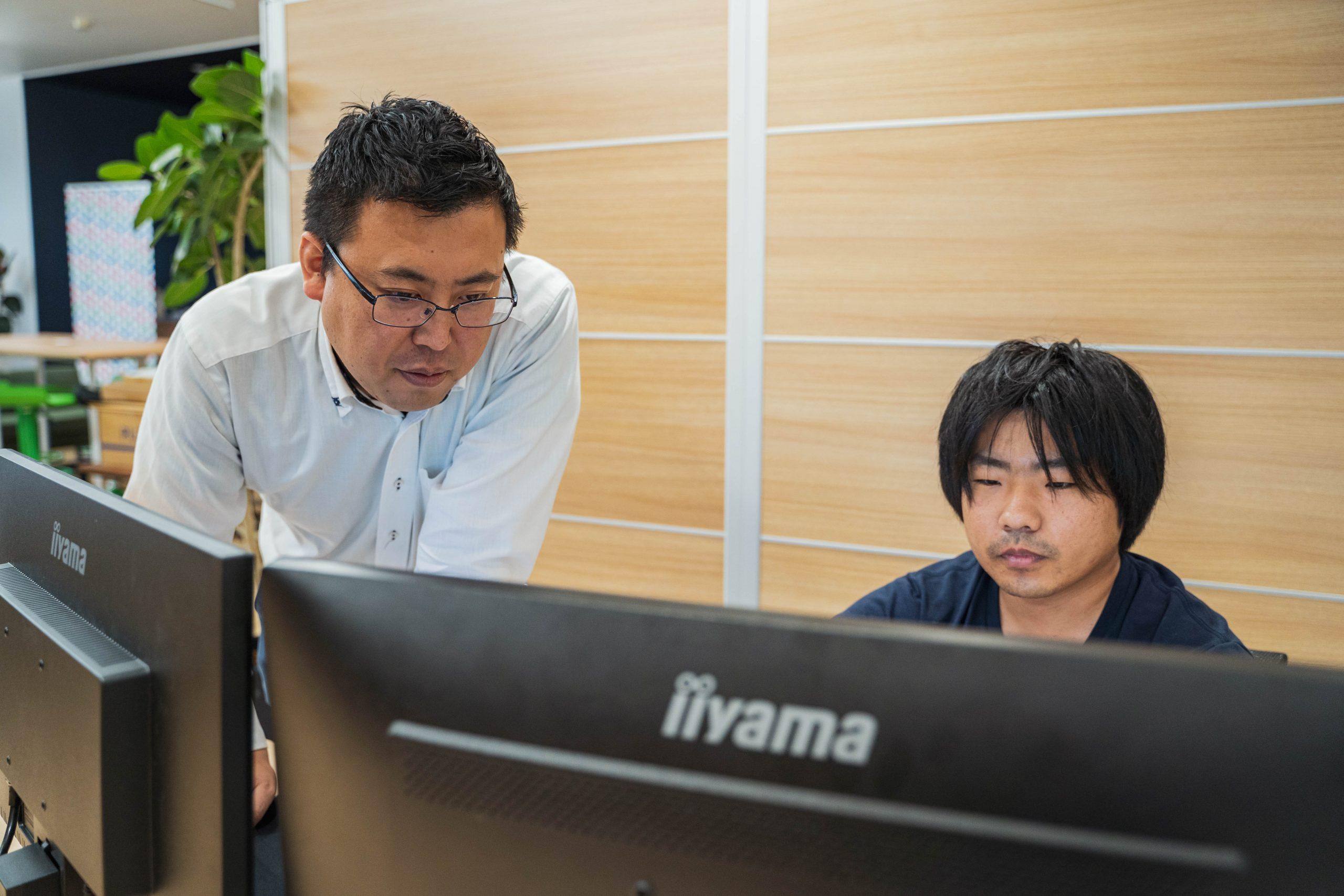 開発ラボとは別のオフィスではデータ分析を実施